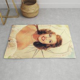 Rita Hayworth, Hollywood Legend Rug