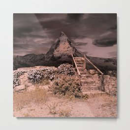 Stairs To The Mountain Metal Print