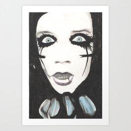 Andy Biersack Art Print