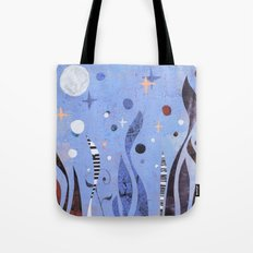 BLUE UNTITLED Tote Bag