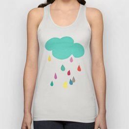 Sunshine and Showers Unisex Tank Top
