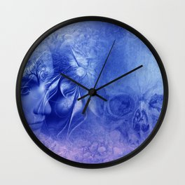 time for life and time for death Wall Clock