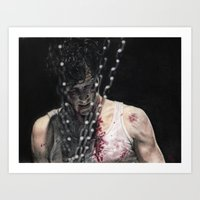 ace Art Prints featuring Ace by wahnwerk