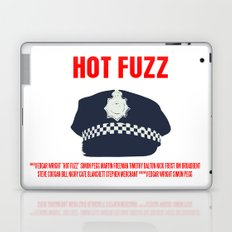 Hot Fuzz Movie Poster Laptop & iPad Skin