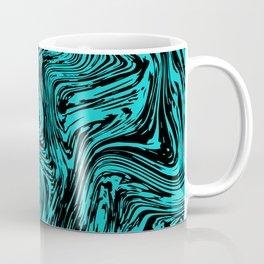 Marble pattern sea wave Coffee Mug