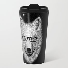 WHITE SPECTACLE Travel Mug
