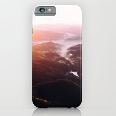 Morning Glory Mountain Landscape iPhone 6s Slim Case