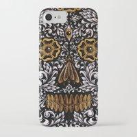 calavera iPhone & iPod Cases featuring CALAVERA by Nick Potash