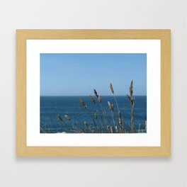 Waving in the wind Framed Art Print