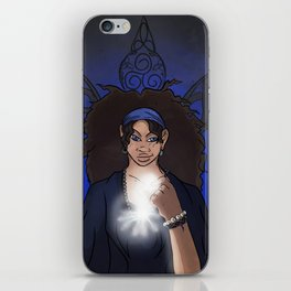The Clairvoyant Raven iPhone Skin
