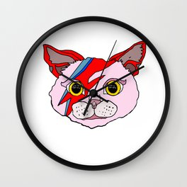 Heroes Cat Head Wall Clock