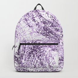Purple Abstract Artistic Simple Design For Her Backpack