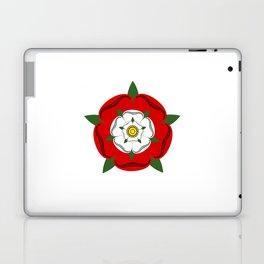 Tudor dynasty rose flag united kingdom great britain Laptop & iPad Skin