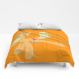 Tail Whipping Applejack Comforters