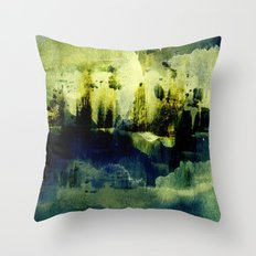 abstract landscape with light Throw Pillow