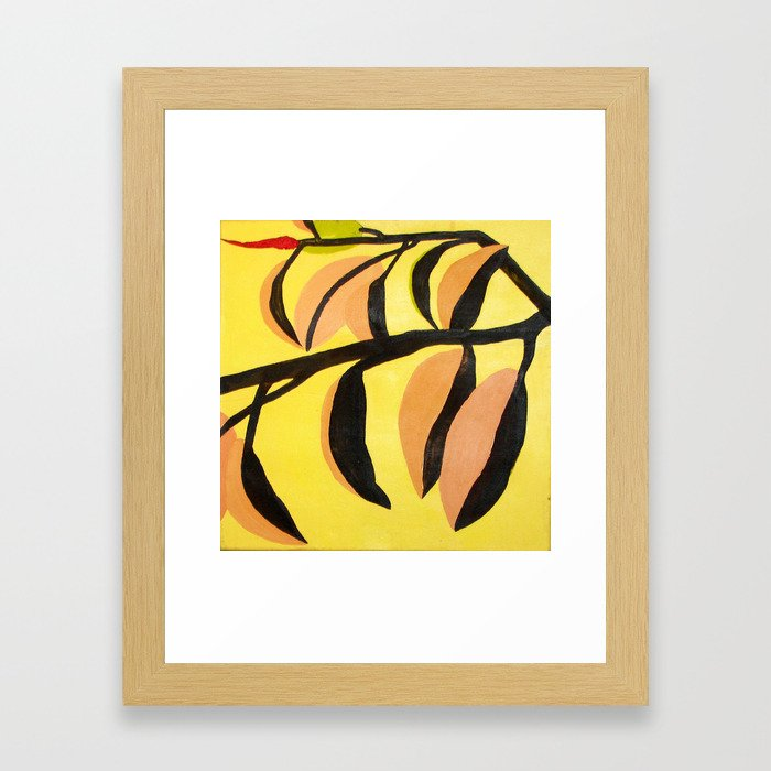 gomero 1 Framed Art Print