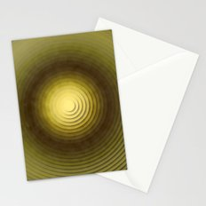 Top Circles  Stationery Cards