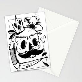 MANGE TES MORTS Stationery Cards