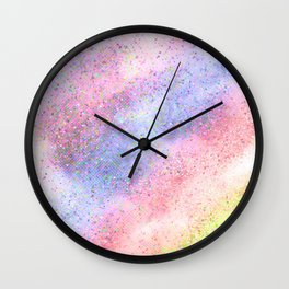 Glitter dust Wall Clock