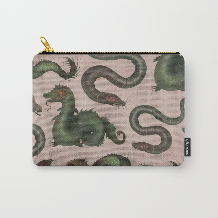 Sea Serpents Carry-All Pouch