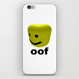 Roblox Oof - Roblox iPhone Skin