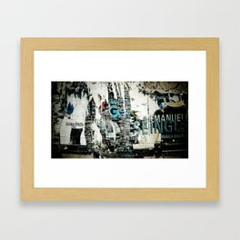Emanuel Framed Art Print