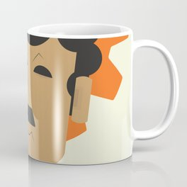 Charlie Chaplin, Modern Times, minimal movie poster, classic film, Charlot, Hollywood Coffee Mug