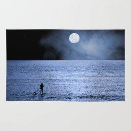 Alone at Sea Rug