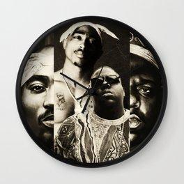 Biggie&Tupac Mix Wall Clock