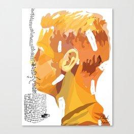 Letter 1 (Dear Haircutting Kit) Canvas Print