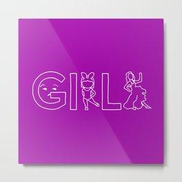 Girls Tv Show Metal Print