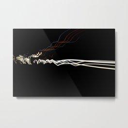 'Warp Speed' Metal Print