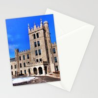 Northern Illinois University Castle - HDR Stationery Cards
