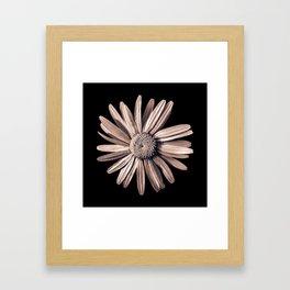 Dinged - bronze Framed Art Print