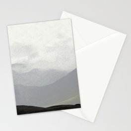 Rannoch Moor - mists and mountains Stationery Cards