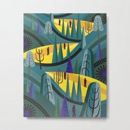 Oaxaca Pines Metal Print