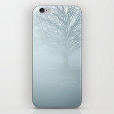 Tree / Winter Silence iPhone & iPod Skin