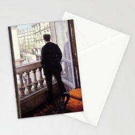 G. Caillebotte - Jeune homme à la fenêtre Stationery Cards