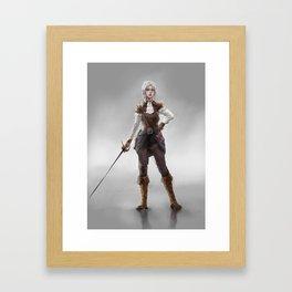 The Assassin Framed Art Print