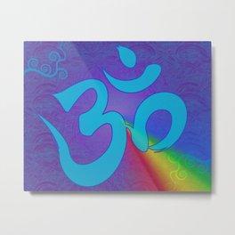 Mantra ... Aom Metal Print