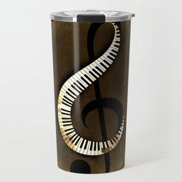 Beethoven  Piano Travel Mug