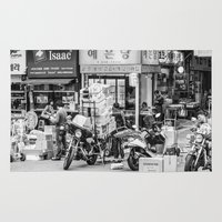seoul Area & Throw Rugs featuring Everyday Seoul by Jennifer Stinson