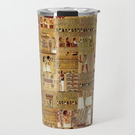 Egyptian Book of the Dead Travel Mug
