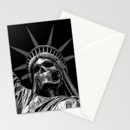 Liberty or Death B&W Stationery Cards