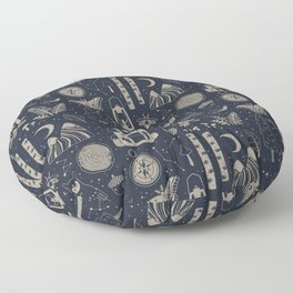 Into the Woods: Stargazing Floor Pillow
