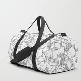 The Book Pile II Duffle Bag