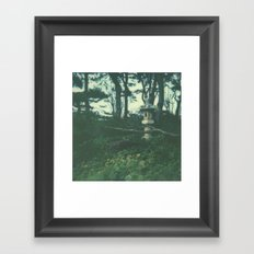 Japanese Garden Framed Art Print