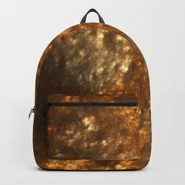 Fractal Art - Gold mine Backpack