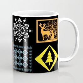 Christmas patterns Coffee Mug