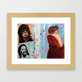 The Male Gaze Framed Art Print